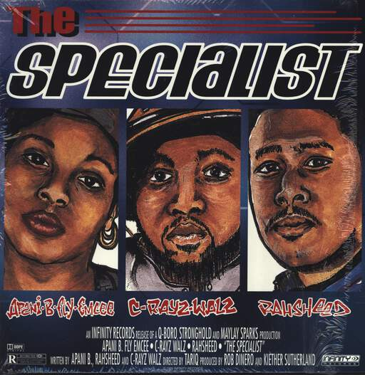 "Apani B. Fly: The Specialist / Perspective, 12"" Maxi Single (Vinyl)"