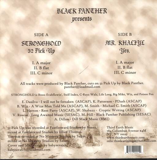 "Black Panther: 52 Pick Up / Yes, 12"" Maxi Single (Vinyl)"