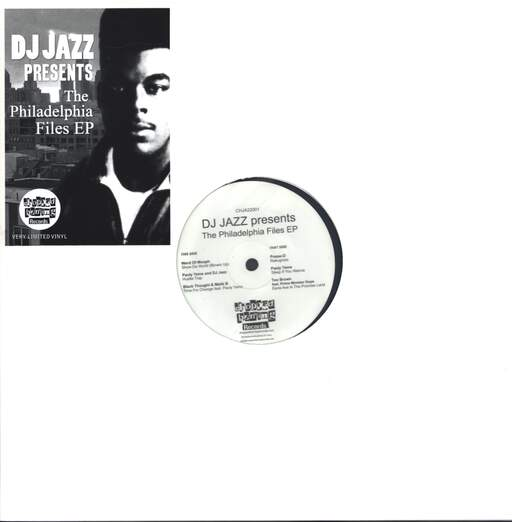 "Various: DJ Jazz Presents The Philadelphia Files EP, 12"" Maxi Single (Vinyl)"