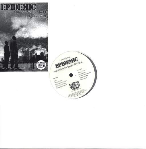 "Epidemic: Monochrome Skies EP Vol 2, 12"" Maxi Single (Vinyl)"