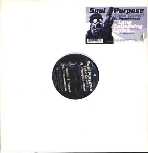 "Soul Purpose: Take Cover ! / Lung Collapsing Lyrics Part II, 12"" Maxi Single (Vinyl)"