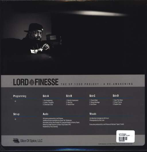 Lord Finesse: The SP1200 Project: A Re-Awakening, LP (Vinyl)