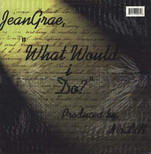 "Jean Grae: What Would I Do? / Love Song, 12"" Maxi Single (Vinyl)"