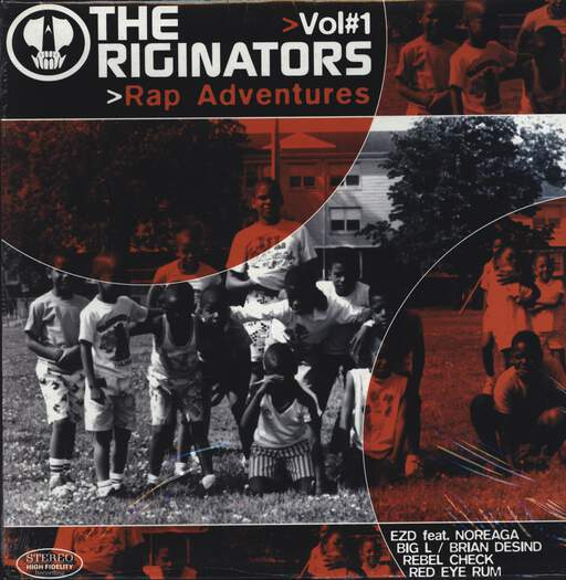 "The Originators: Rap Adventures > Vol. 1, 12"" Maxi Single (Vinyl)"