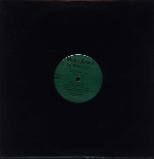 "Meen Green: In Da Wind, 12"" Maxi Single (Vinyl)"