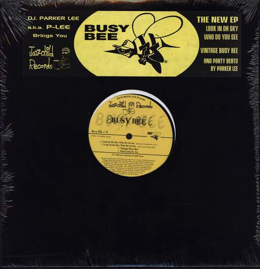 "DJ Parker Lee: Look In Da Sky Who Do Ya See, 12"" Maxi Single (Vinyl)"