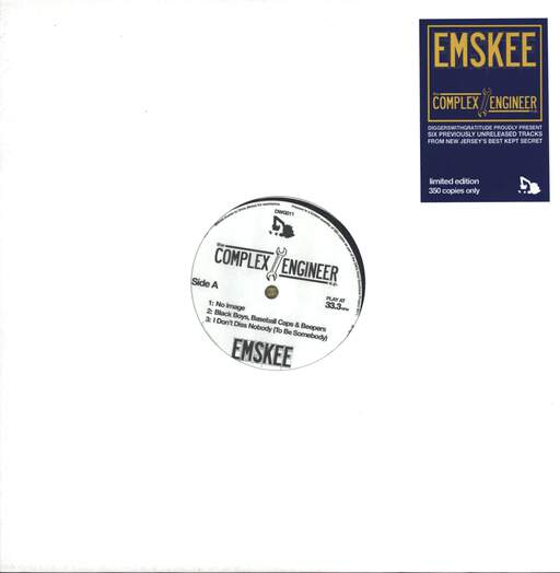 "Emskee: The Complex Engineer E.P., 12"" Maxi Single (Vinyl)"