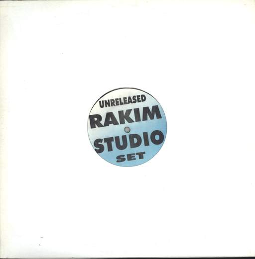 "Rakim: Unreleased Rakim Studio Set, 12"" Maxi Single (Vinyl)"