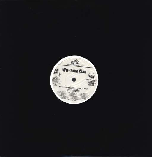 "Wu-Tang Clan: Wu-Tang Clan Ain't Nuthing Ta F' Wit / Shame On A Nigga, 12"" Maxi Single (Vinyl)"