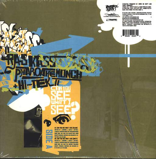 "Ras Kass: Can You See What I See? / Hands High / Represent, 12"" Maxi Single (Vinyl)"