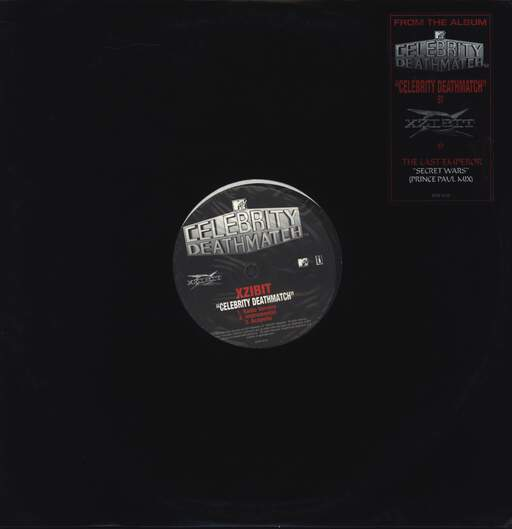 "Xzibit: Celebrity Deathmatch / Secret Wars (Prince Paul Mix), 12"" Maxi Single (Vinyl)"