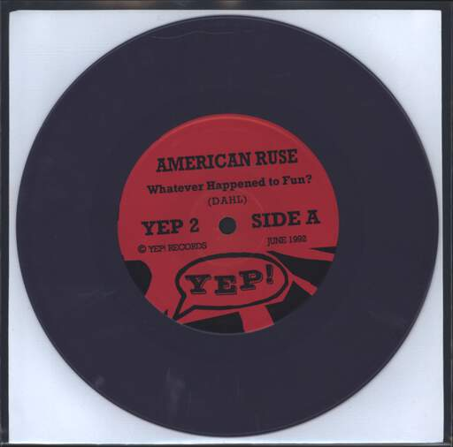"American Ruse: What Ever Happened To Fun?, 7"" Single (Vinyl)"