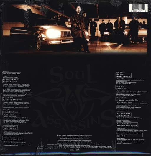 DJ Muggs: Presents...The Soul Assassins (Chapter 1), LP (Vinyl)