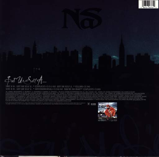 "Nas: Got Ur Self A..., 12"" Maxi Single (Vinyl)"