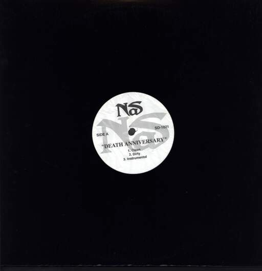 "Nas: Death Anniversary, 12"" Maxi Single (Vinyl)"