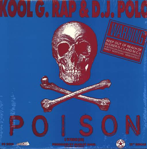 "Kool G Rap & D.J. Polo: Poison, 12"" Maxi Single (Vinyl)"