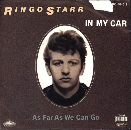 "Ringo Starr: In My Car, 7"" Single (Vinyl)"