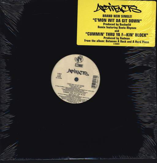 "Artifacts: C'mon Wit Da Git Down, 12"" Maxi Single (Vinyl)"