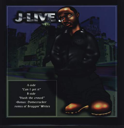 "J-Live: Can I Get It?, 12"" Maxi Single (Vinyl)"