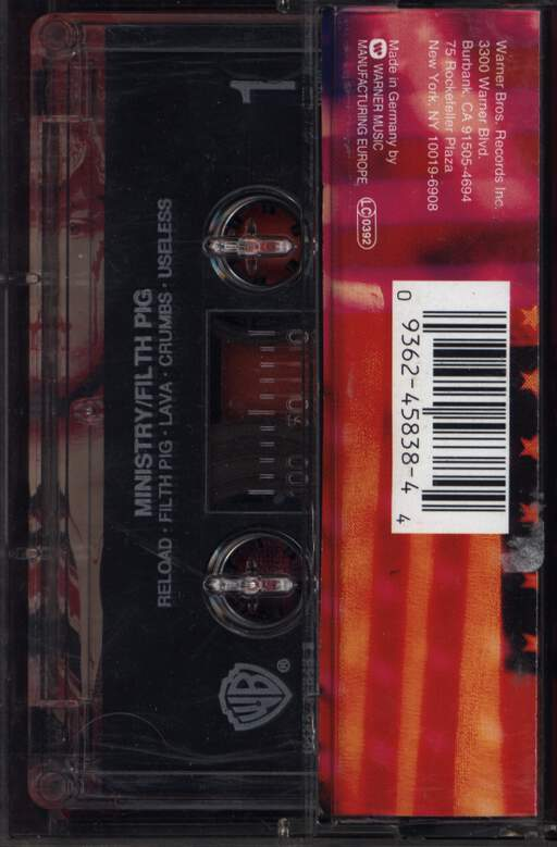 Ministry: Filth Pig, Compact Cassette