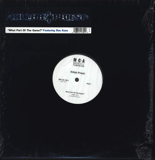 "Killah Priest: Whut Part Of The Game?, 12"" Maxi Single (Vinyl)"