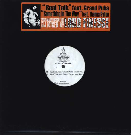 "Lord Finesse: Real Talk, 12"" Maxi Single (Vinyl)"