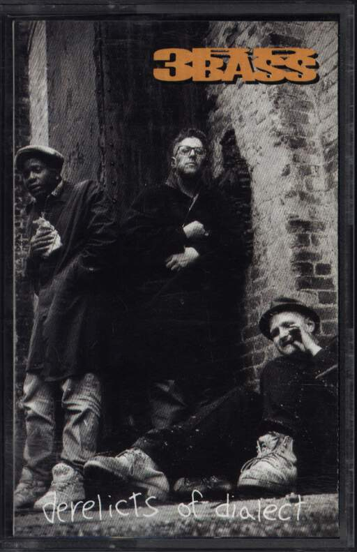 3rd Bass: Derelicts Of Dialect, Compact Cassette