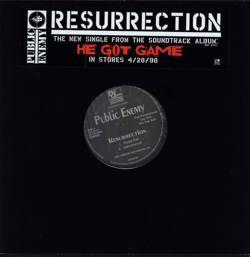 "Public Enemy: Resurrection, 12"" Maxi Single (Vinyl)"