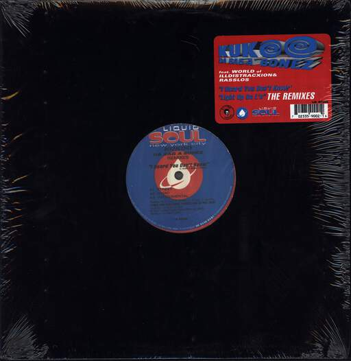 "Kukoo Da Baga Bonez: I Heard You Don't Know / Light Up Da L's, 12"" Maxi Single (Vinyl)"