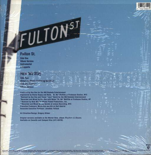 "Leschea: Fulton St. / How We Stay, 12"" Maxi Single (Vinyl)"