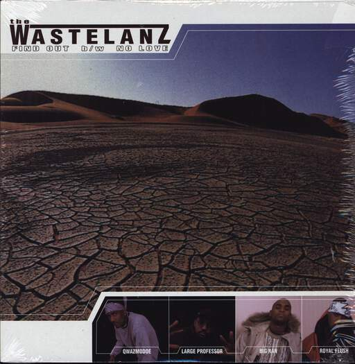 "Wastlanz: Find Out / No Love, 12"" Maxi Single (Vinyl)"