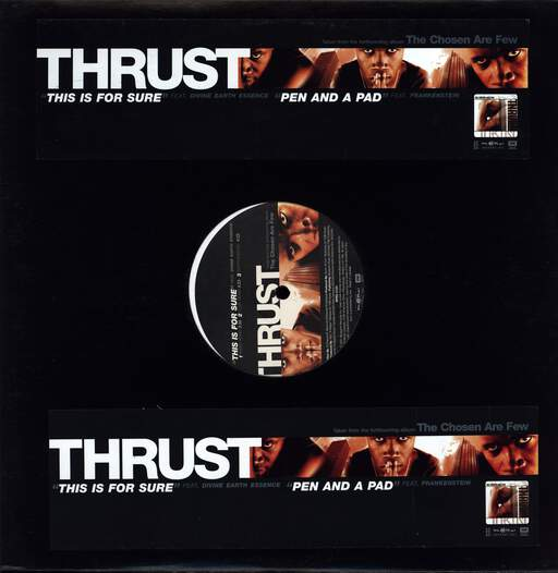 "Thrust: This Is For Sure / Pen And A Pad, 12"" Maxi Single (Vinyl)"