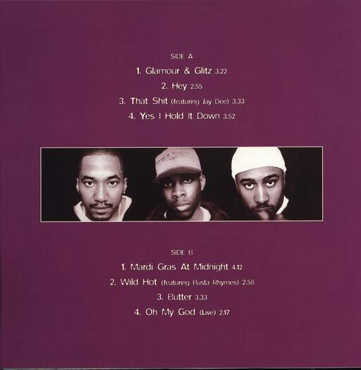 "A Tribe Called Quest: The Jam EP Vol. 2, 12"" Maxi Single (Vinyl)"
