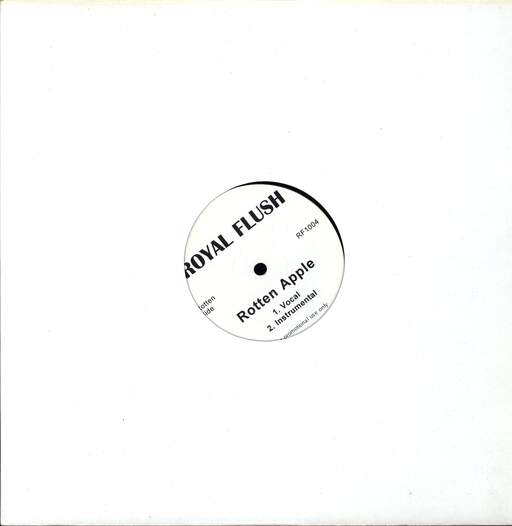 "Royal Flush: Rotten Apple, 12"" Maxi Single (Vinyl)"