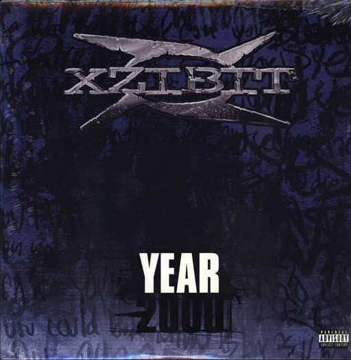 "Xzibit: Year 2000, 12"" Maxi Single (Vinyl)"
