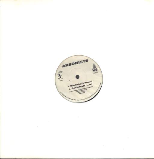"The Arsonists: Backdraft / Halloween I, 12"" Maxi Single (Vinyl)"