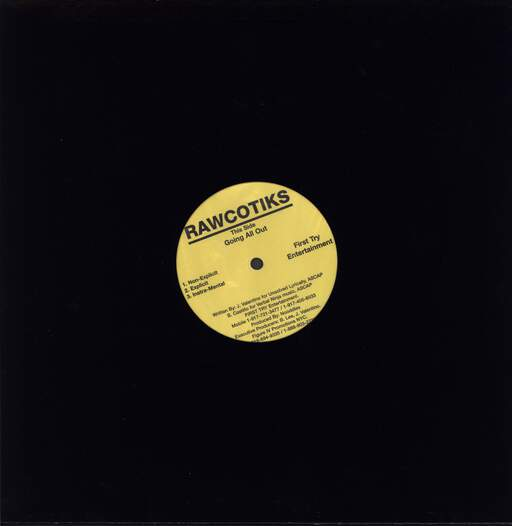"Rawcotiks: Going All Out, 12"" Maxi Single (Vinyl)"
