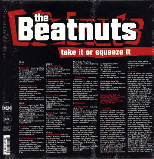 The Beatnuts: Take It Or Squeeze It, LP (Vinyl)