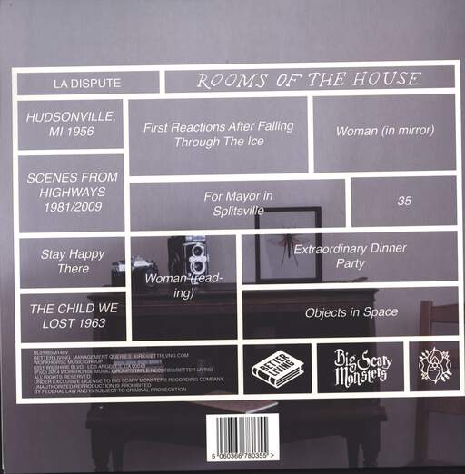La Dispute: Rooms Of The House, LP (Vinyl)