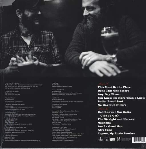 Iron and Wine: Sing Into My Mouth, LP (Vinyl)