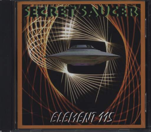 Secret Saucer: Element 115, CD