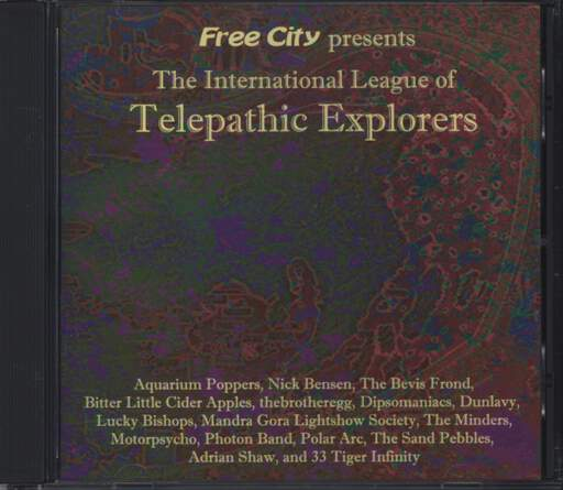Various: The International League Of Telepathic Explorers, CD