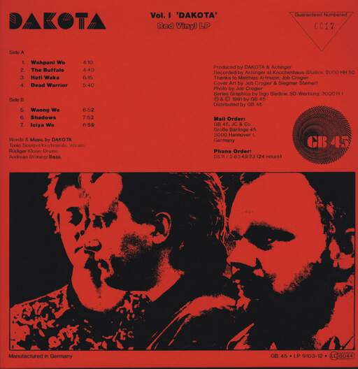 Dakota Vol. 1