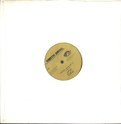 "The Smith Brothers: Broken Language Part 2, 12"" Maxi Single (Vinyl)"