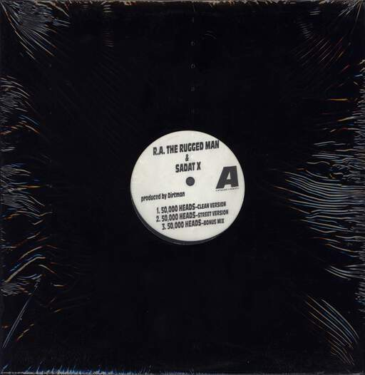"R.A. The Rugged Man: 50,000 Heads / Smithhaven Mall, 12"" Maxi Single (Vinyl)"