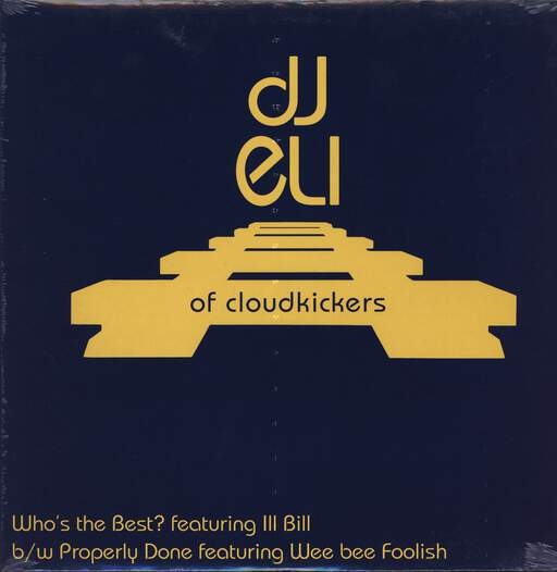 "DJ Eli: Who's The Best? / Properly Done, 12"" Maxi Single (Vinyl)"