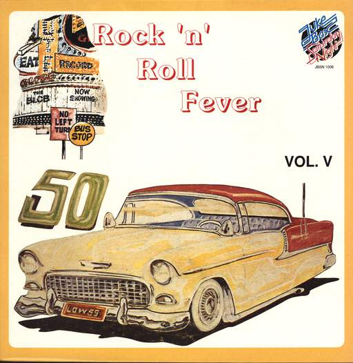 Various: Rock'n'Roll Fever Vol, V, LP (Vinyl)