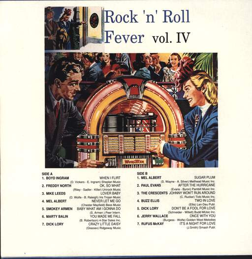 Various: Rock 'n' Roll Fever Vol. IV, LP (Vinyl)