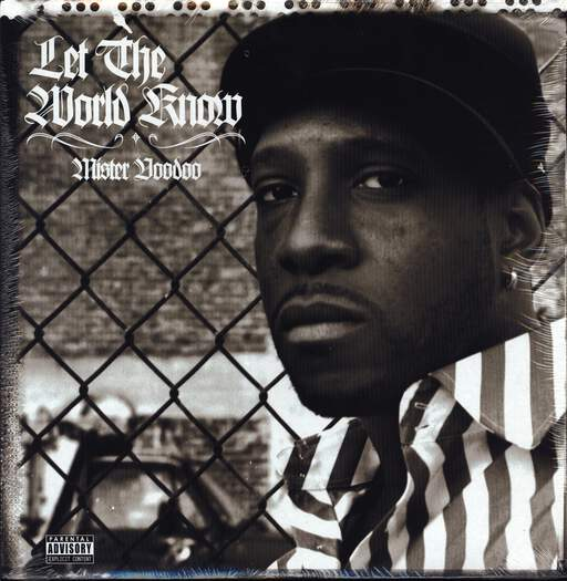 "Mr. Voodoo: Let The World Know, 12"" Maxi Single (Vinyl)"