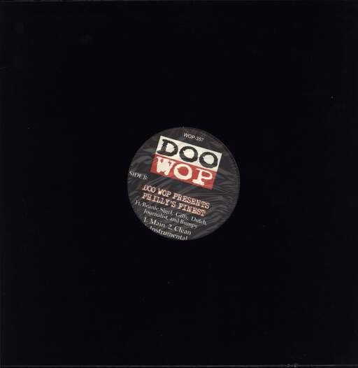 "Doo Wop: Ten Tape Commandments / Doo Wop Presents Philly's Finest, 12"" Maxi Single (Vinyl)"